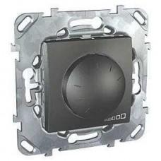 Светорегулятор поворотно-нажимной для ламп накаливания и галогенных ламп 230В и 12В с ферромагнитным трансформатором MGU5.512.12