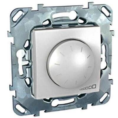 MGU5.512.18 Світлорегулятор поворотно-натискний для ламп розжарювання і галогенних ламп 230В та 12В з феромагнітним трансформатором