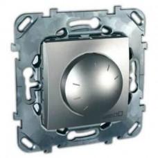 Светорегулятор поворотно-нажимной для ламп накаливания и галогенных ламп 230В и 12В с ферромагнитным трансформатором MGU5.512.30