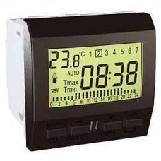 Цифровой программируемый термостат для кондиционера или отопления серия Unica MGU3.505.12