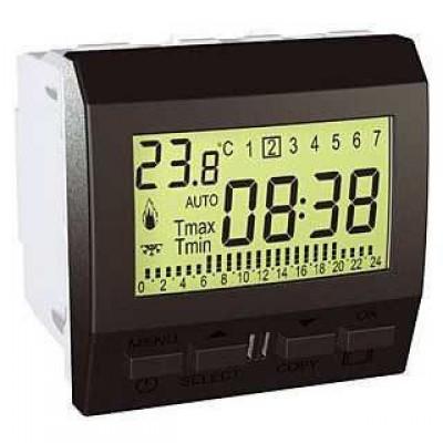 MGU3.505.12 Цифровий програмований термостат для кондиціонера або опалення серія Unica