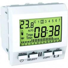 Цифровой будильник 24ч-7д серия Unica MGU3.545.18