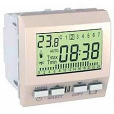 Цифровой программируемый термостат для кондиционера или отопления серия Unica MGU3.505.25