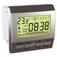 Цифровой программируемый термостат для кондиционера или отопления серия Unica MGU3.505.30