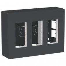 Блок unica system + видкр.взт. 3х2 Антраците