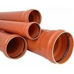 Наружная канализация PVC (ПВХ) Тип изделия Заглушка