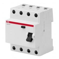 УЗО ABB 4 полюса 63 ампера BMF41463 (2CSF604041R1630)