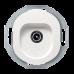 "TV-розетка концевая Aling Conel серии EON. Цвет ""Белый"" (E612I.0)"