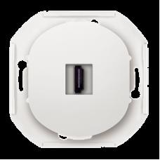 "HDMI-розетка Aling Conel EON. Цвет ""Белый"" (E6163.0)"