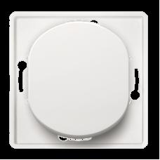 """Выключатель одноклавишный Aling Conel EON без подсветки. Цвет """"Белый"""" (E605.0)"""
