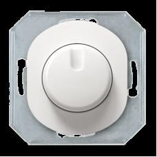 """Светорегулятор с однополюсным выключателем Aling Conel серии EON. Цвет """"Белый"""" (E6173.0)"""