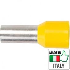 Кабельный наконечник трубчатый с изоляцией, сечение провода 25 мм