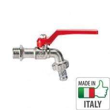 """Поливочный кран шаровый Bonomi Arno 1/2"""" алюминиевая ручка, 73000204R"""