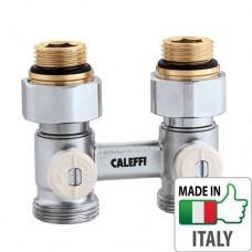 """Кран радиаторный H-образный Caleffi 1/2`x3/4"""" НН регулирующие вентили"""