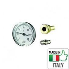 Термометр Cewal фронтальный 40 1/2″ 5см (0/120°С)