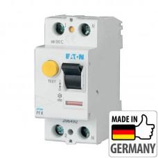 Устройство защитного отключения (УЗО) Eaton PF4, 40А, 2 полюса (PF4-40/2/003)