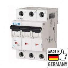 Автоматический выключатель PL4 Eaton, 10А, 3-полюсный PL4-B10/3