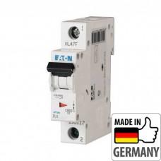 Автоматический выключатель PL4 Eaton, 10А, 1-полюсный PL4-B10/1