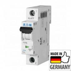 Автоматический выключатель PL4 Eaton, 10А, 1-полюсный PL4-C10/1