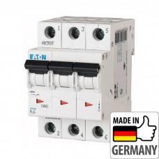 Автоматический выключатель PL6 Eaton, 10А, 3-полюсный PL6-B10/3