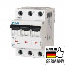 Автоматический выключатель PL6 Eaton, 25А, 3-полюсный PL6-C25/3