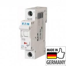 Автоматический выключатель PL7 Eaton, 1А, 1-полюсный + нейтраль PL7-C1/1N