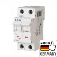 Автоматический выключатель PL7 Eaton, 1А, 2-полюсный PL7-C1/2