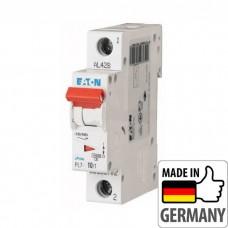 Автоматический выключатель PL7 Eaton, 10А, 1-полюсный PL7-B10/1