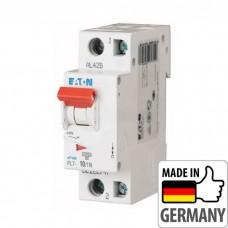 Автоматический выключатель PL7 Eaton, 10А, 1-полюсный + нейтраль PL7-B10/1N