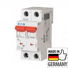 Автоматический выключатель PL7 Eaton, 10А, 2-полюсный PL7-B10/2
