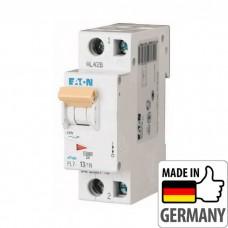 Автоматический выключатель PL7 Eaton, 13А, 1-полюсный + нейтраль PL7-B13/1N