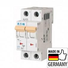 Автоматический выключатель PL7 Eaton, 13А, 2-полюсный PL7-D13/2