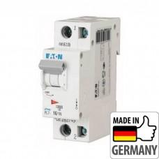 Автоматический выключатель PL7 Eaton, 16А, 1-полюсный + нейтраль PL7-B16/1N