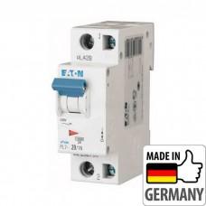 Автоматический выключатель PL7 Eaton, 20А, 1-полюсный + нейтраль PL7-B20/1N