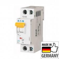 Автоматический выключатель PL7 Eaton, 25А, 1-полюсный + нейтраль PL7-C25/1N