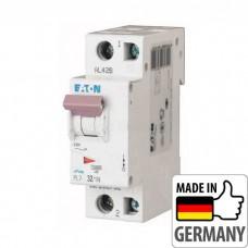 Автоматический выключатель PL7 Eaton, 32А, 1-полюсный + нейтраль PL7-B32/1N