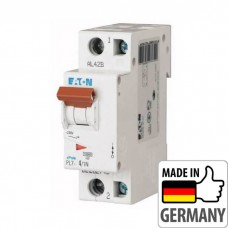 Автоматический выключатель PL7 Eaton, 4А, 1-полюсный + нейтраль PL7-C4/1N