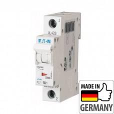 Автоматический выключатель PL7 Eaton, 50А, 1-полюсный PL7-B50/1
