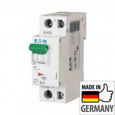 Автоматический выключатель PL7 Eaton, 6А, 1-полюсный + нейтраль PL7-C6/1N