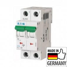 Автоматический выключатель PL7 Eaton, 6А, 2-полюсный PL7-D6/2