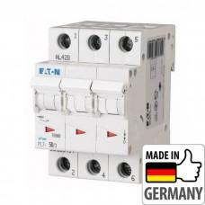 Автоматический выключатель PL7 Eaton, 63А, 3-полюсный PL7-B63/3