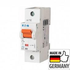 Автоматический выключатель PLHT Eaton, 63А, 1-полюсный PLHT-B63