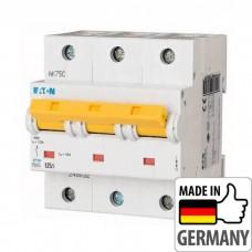 Автоматический выключатель PLHT Eaton, 125А, 3-полюсный PLHT-C125/3