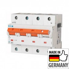 Автоматический выключатель PLHT Eaton, 63А, 3-полюсный + нейтраль PLHT-D63/3N