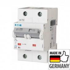 Автоматический выключатель PLHT Eaton, 80А, 2-полюсный PLHT-C80/2