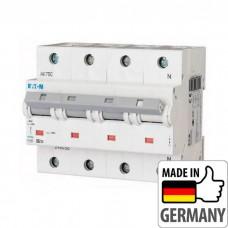 Автоматический выключатель PLHT Eaton, 80А, 3-полюсный + нейтраль PLHT-C80/3N
