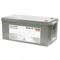 Аккумулятор гелевый LogicPower LPM-GL 12-150 AH, 12 вольт