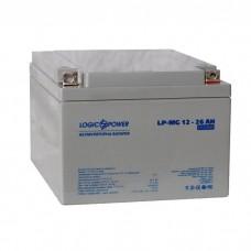 Аккумулятор мультигелевый LogicPower LPM-MG 12-26 AH