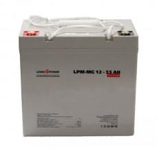 Аккумулятор мультигелевый LogicPower LPM-MG 12-55 AH