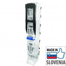 Блок-рубильник Apator ARS 1-6-M для ножевых предохранителей, 3 полюса (вертикальный)